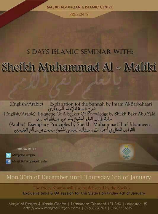 M.Malaki Furqaan Seminar