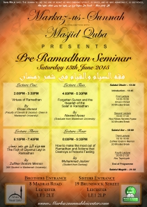 pre-ramadhan seminar final